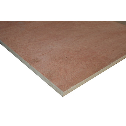 Wickes Non Structural Hardwood Plywood 18mm X 606mm X 1220mm Wickes Co Uk