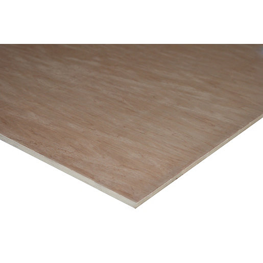 Wickes Non-Structural Hardwood Plywood - 9 x 607