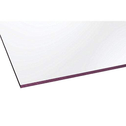 Marlon Fsx 4mm Solid Polycarbonate Clear Sheet 1500mm