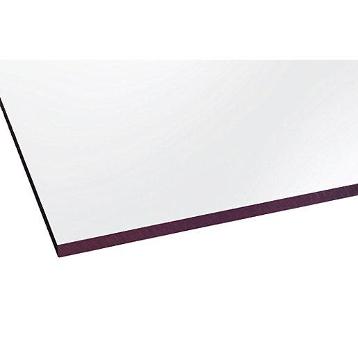 Marlon Fsx 5mm Solid Polycarbonate Clear Sheet 1500mm