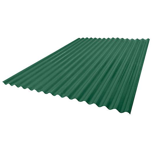 Onduline Onduplast Colour GRP Green Sheet - 900mm