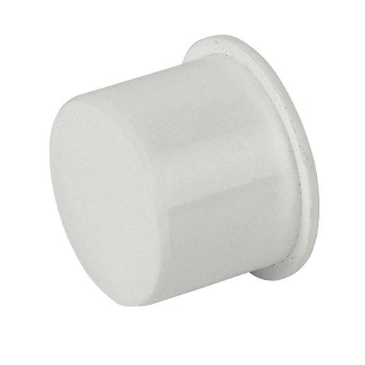 FloPlast WP31W Push-Fit Waste Socket Plug - White