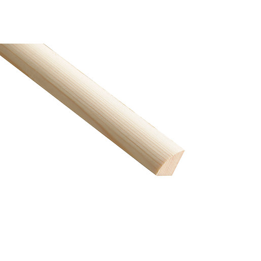 Wickes Pine Quadrant Moulding - 18mm x 18mm