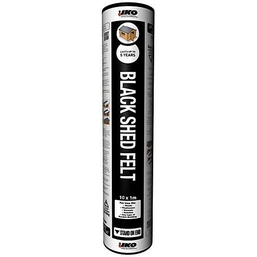 IKO Black Shed Felt - 10 x 1m