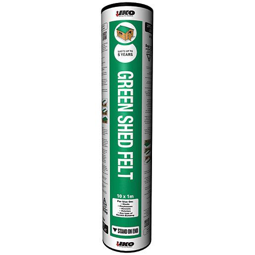 IKO Green Mineral Shed Felt Roll - 1m