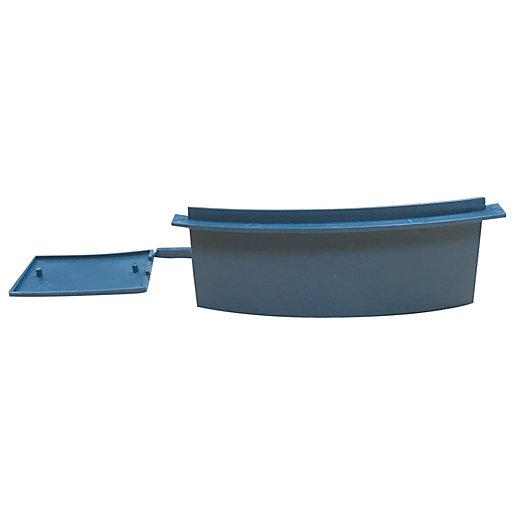 Easy-Trim Verge U Starter/End Cap Packs Grey