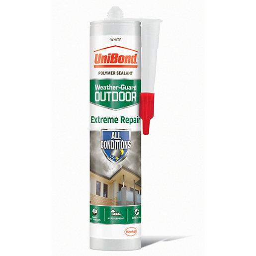 UniBond Extreme Repair Sealant White - 389g