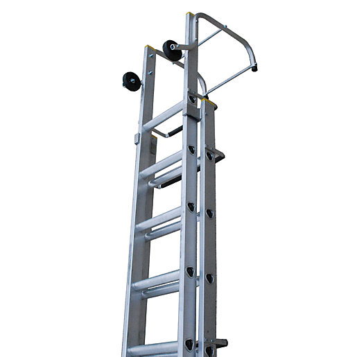 Tb Davies 4.83m Trade Aluminium Double Extension Ladder