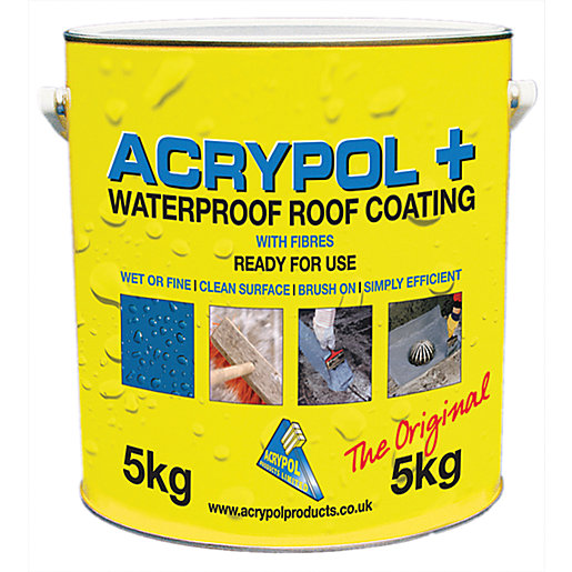 Acrypol + White Solar Waterproof Coating - 5kg