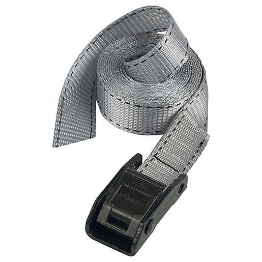 Master Lock Grey Lashing Strap 5m x 25mm
