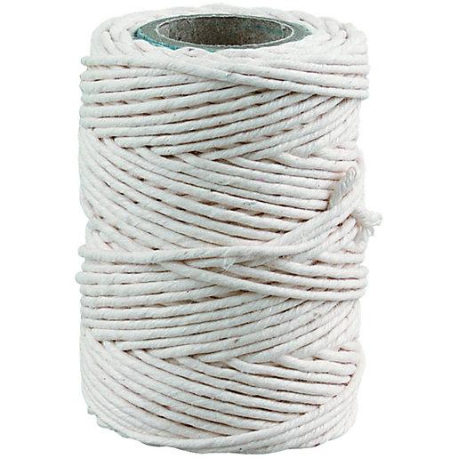 General Purpose White Cotton Twine - 30m