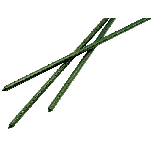 Plastic Coated Metal Garden Stakes 1.5m