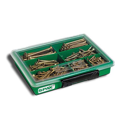 Spax Screws Assortment Case - Pack of 245