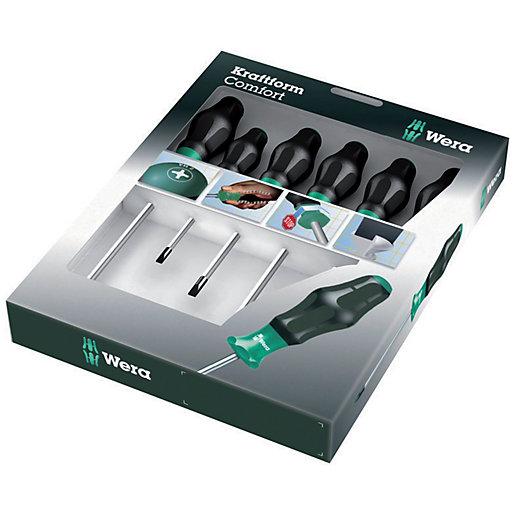 Kraftform Comfort 6 Piece Screwdriver Set - Sl/Ph/Pz