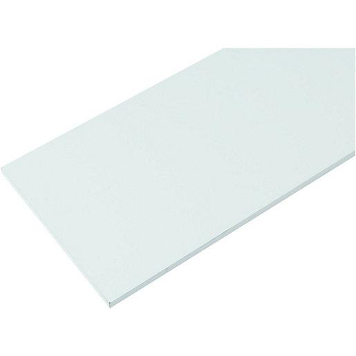 Wickes Melamine White Shelf - 18 x 305