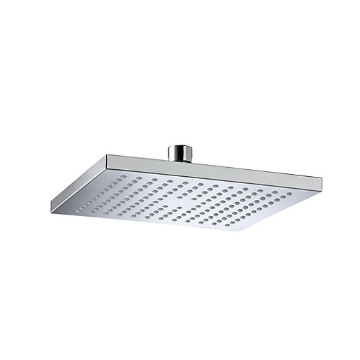Bristan Square Wall Mounted Chrome Shower Head &