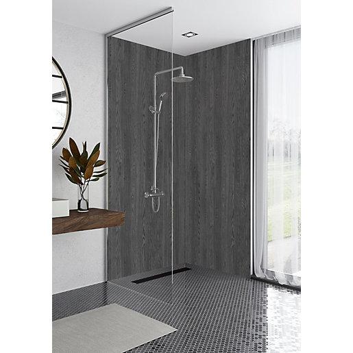 Mermaid Elite Bomarzo Post Form Single Shower Panel