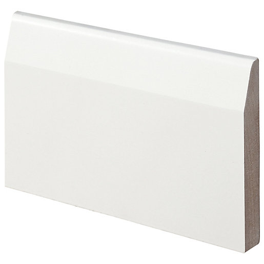 Wickes Chamfered Fully Finished MDF Skirting 14.5mm x