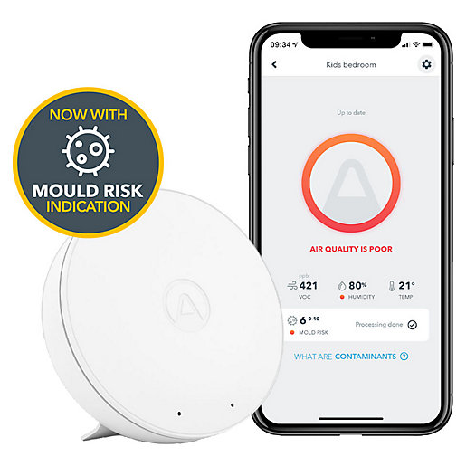 Airthings Wave Mini - Indoor Air Quality Monitor