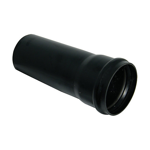 FloPlast 110mm Soil Pipe Single Socket 3m -