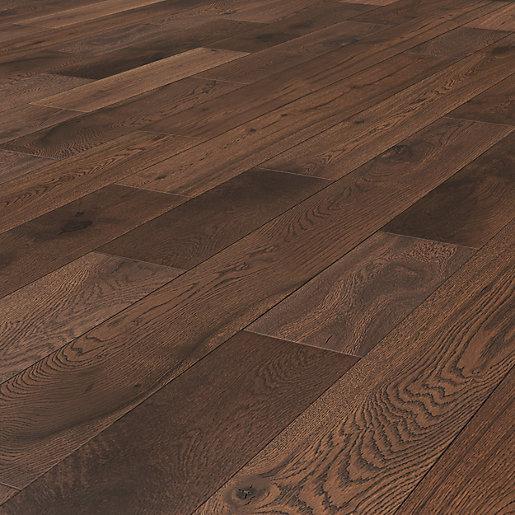 W by Woodpecker Dark Oak Solid Wood Flooring