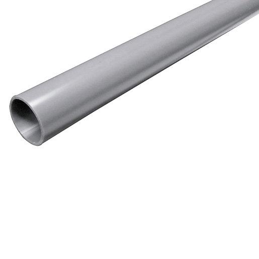 FloPlast Solvent Weld Waste Pipe - Grey 32mm