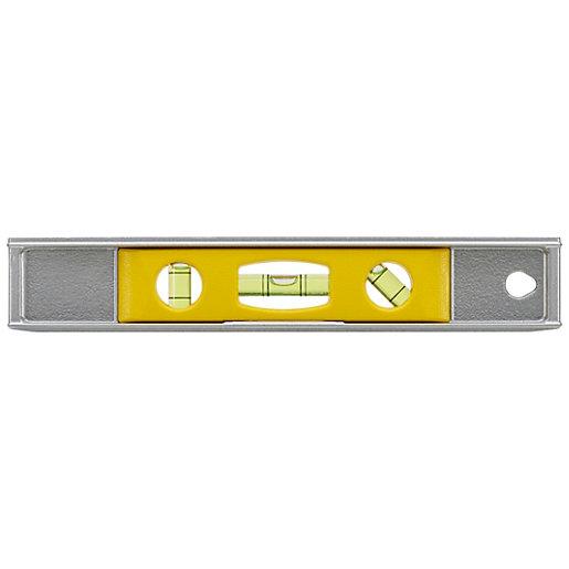 Stanley 0-42-465 Magnetic Cast Aluminium Torpedo Level -