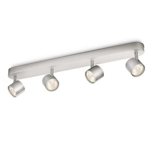 Philips Star LED Aluminium 4 Bar Spotlight -