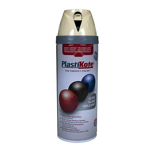 PlastiKote Multi-Surface Spray Paint - Gloss Antique White