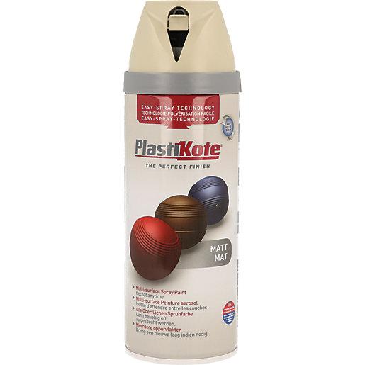 Plastikote Multi-surface Spray Paint - Matt French Grey