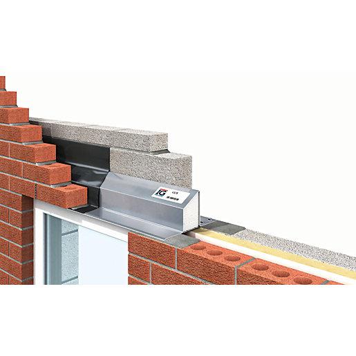 IG LTD 75-90mm Steel Cavity Wall Lintel