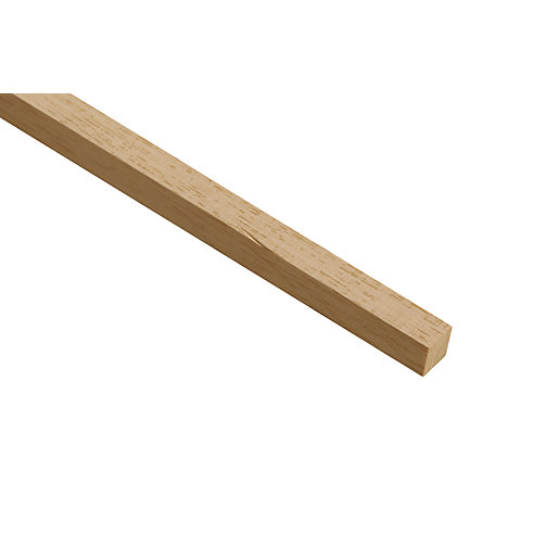 Wickes Light Hardwood Stripwood Moulding (Par) - 12mm