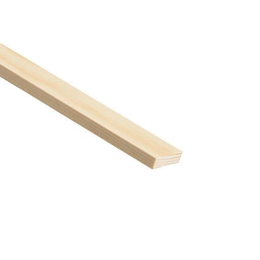 Wickes Pine Stripwood Moulding (PSE) - 12mm x