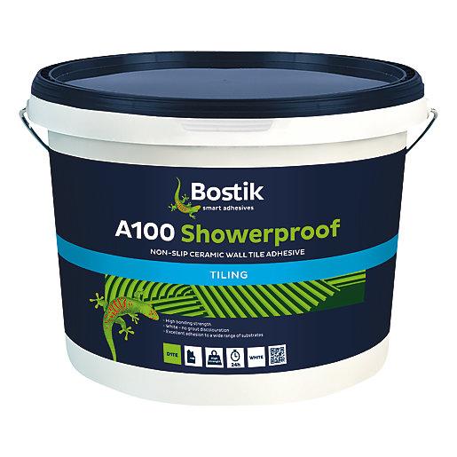 Bostik Non-Slip Ready Mixed Showerproof Tile Adhesive A100
