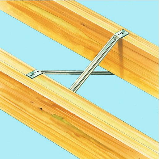 Wickes 400mm Herringbone Joist Strut