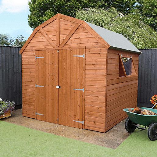 Mercia 8 x 8 ft Premium Timber Shiplap