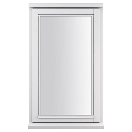 White Double Glazed Timber Casement Window - 1-Lite