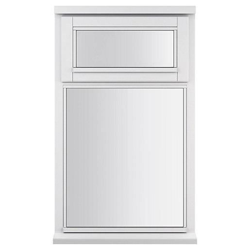 White Double Glazed Timber Casement Window - 2-Lite
