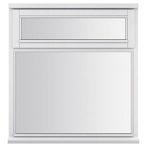 White Double Glazed Timber Window 895 X 1195