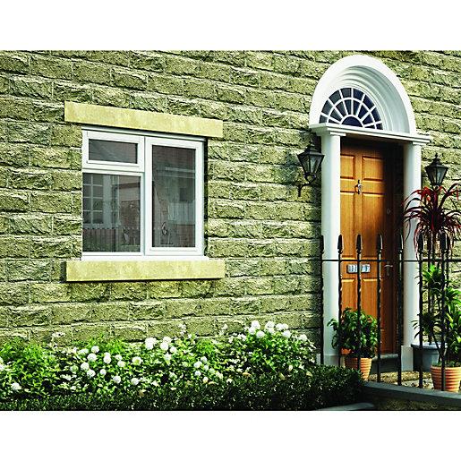 Wickes White Timber Casement Window - RH Side