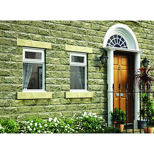 Wickes White Timber Casement Window - Top Hung