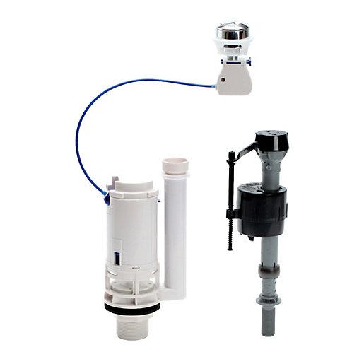 Fluidmaster Push Button Cistern Dual Flush Valve &
