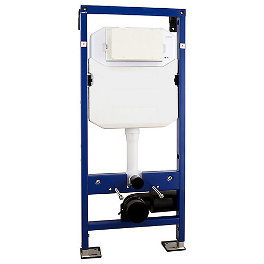 Abacus Wall Mounted WC Frame with Dual Flush