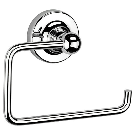 Croydex Chrome Worcester Flexi-fix Toilet Roll Holder