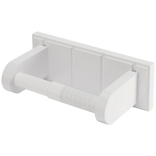 Croydex Portland White Toilet Roll Holder