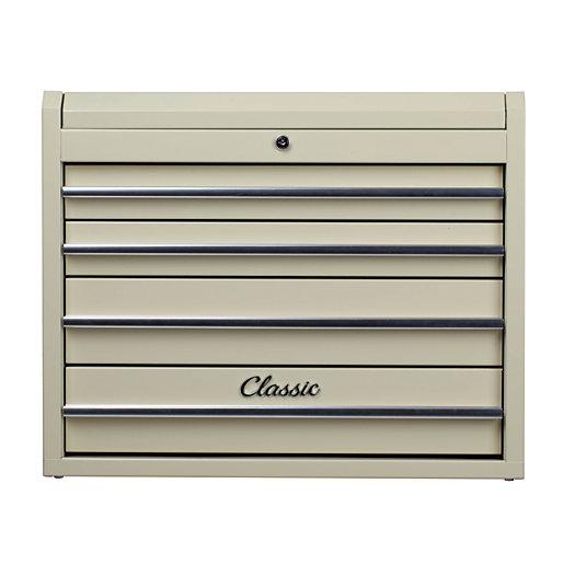 Hilka Classic 4 Drawer Tool Chest - Cream