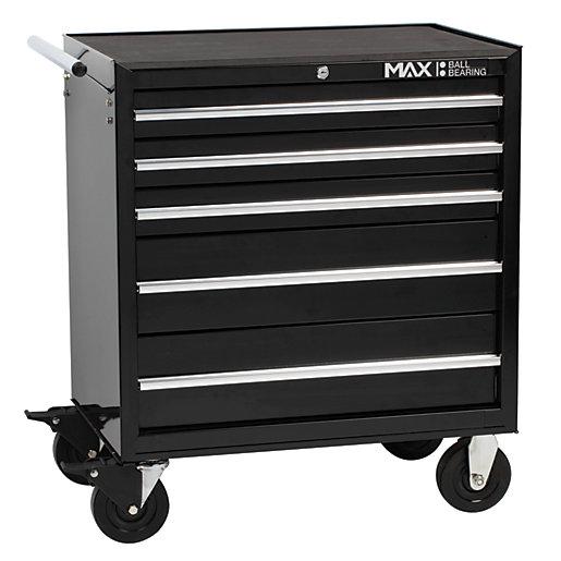 Hilka Professional 5 Drawer Rollaway Tool Cabinet -