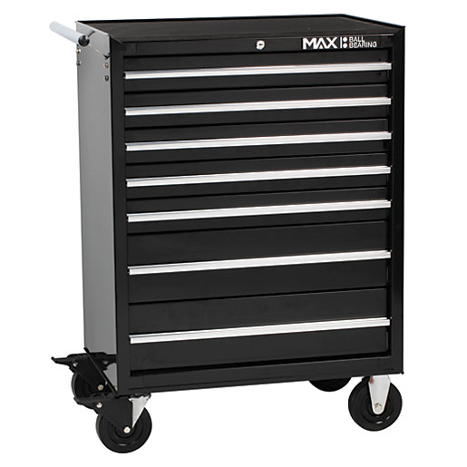 Hilka Professional 7 Drawer Rollaway Tool Cabinet -