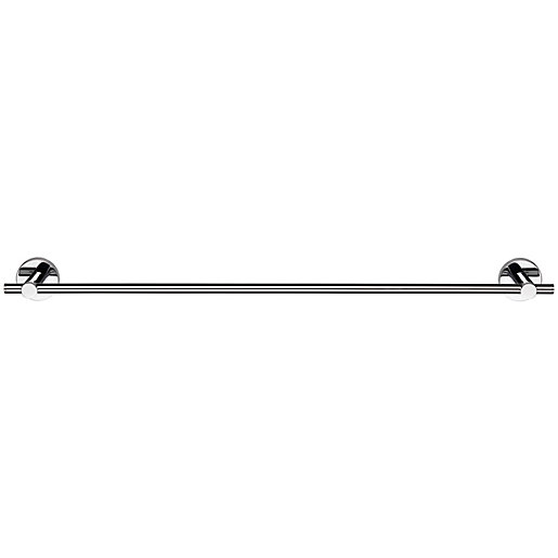 Croydex Pendle Flexi-fix Towel Rail - Chrome 705mm