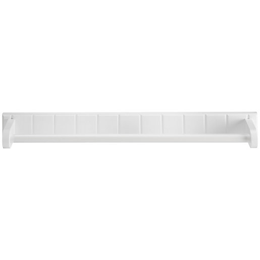 Croydex Portland Bathroom Towel Rail - White